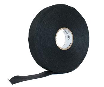 Leinenband Schlägertape für Eishockey 50m x 25mm schwarz