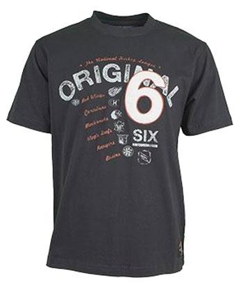 Old Time Hockey T-Shirt OTH NHL Blanca T-Shirt Orginal Six