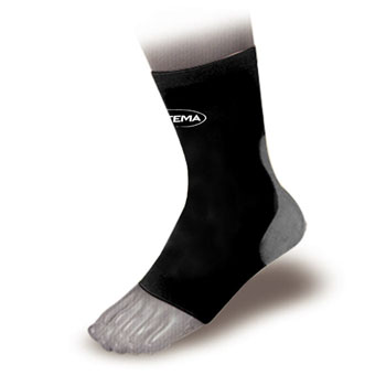 Ortema X-Foot padded sock back onesize SINGLE