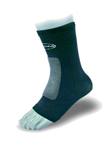 Ortema X-Foot pehmustetut sukat edessä yksiosainen