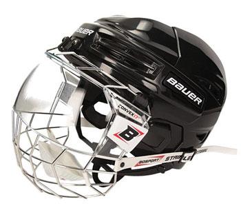 Paquete de casco Bauer IMS 5.0 + protector facial BoSport