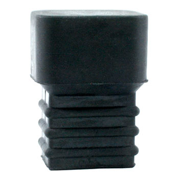 Rubber end piece for sticks