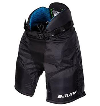 Spodnie hokejowe Bauer X Youth czarne
