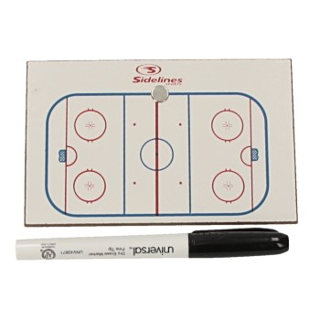 Sport Partner Tactical Board Icehockey klein 8 x12cm