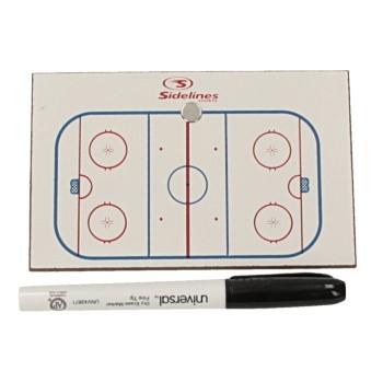 Tavola da gioco per sport partner Icehockey 8 x12cm