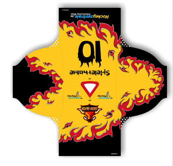Team Jersey with your own Design incl. Name and Number of player up to 35 €