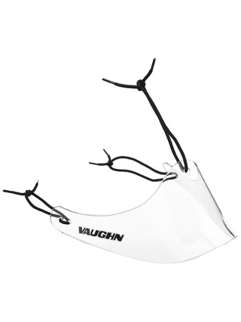 Vaughn Pro Lexan Throat Protector Velocity 2000 colour: clea