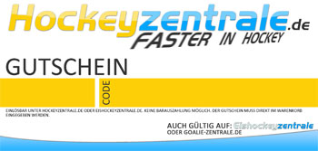 Voucher coupon Hockeyoffice - individual amount - no shippin