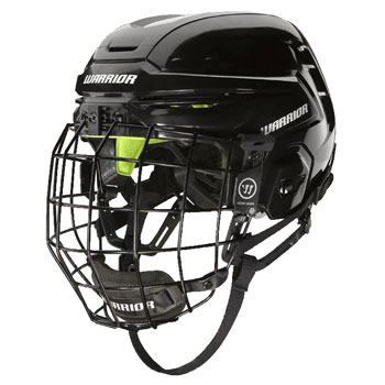 Warrior Alpha One Helmet Combo Youth black incl. cage