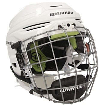 Warrior Alpha One Helmet Combo Youth white incl. cage
