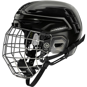 Warrior Alpha Pro Helmet Combo Senior black