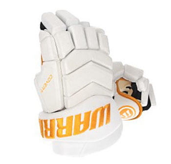 Warrior Covert Team gants enfant blanc-or