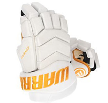 Warrior Covert Team gants Senior blanc-or