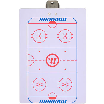 Warrior Hockey Clip Board - Tablero de clip de hockey guerr