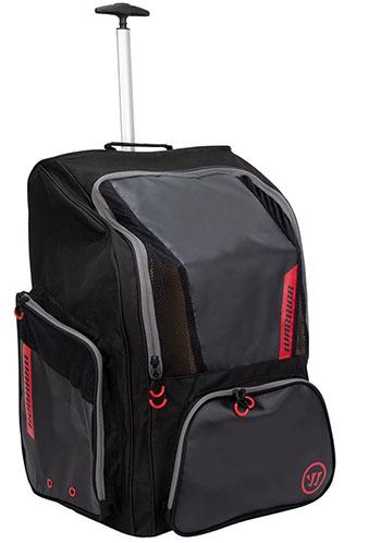Warrior Pro Wheel Backpack Senior black red