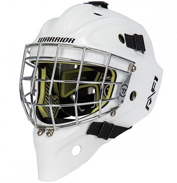 Warrior Ritual F1 Junior Goalie Mask White
