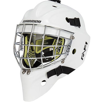 Warrior Ritual F1 Senior Mask White