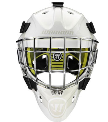 Warrior Ritual F1 Youth Goalie Mask White