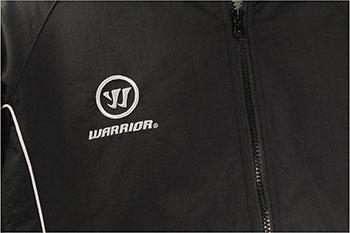 Warrior Winter W2 Stadium chaqueta abrigada niños - Negro