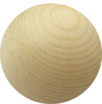 wooden ball 45cm diameter