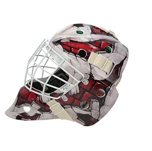 25655e7525f Bauer NME 4 Goalie Wall Design Mask Senior - Goalie Masks