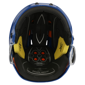 Bauer RE-AKT 75 Hockey Helmet royal (2)