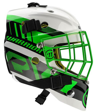Warrior Ritual F1 Bambini Goalie Mask Neon/Green/White (3)