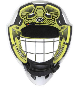 Warrior Ritual F1 Bambini Goalie Mask Neon/Green/White (5)